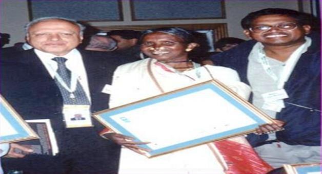 Khabar Odisha:uneducated-lady-farmer-scientist-kamalas-achievement