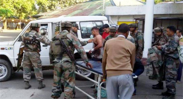 Khabar Odisha:Last-4-years-3363-army-injured-during-control-danga