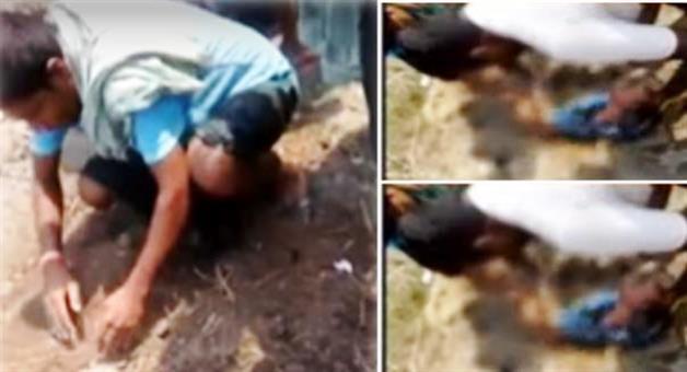 Khabar Odisha:Bourning-child-rescue-matter-father-arrested