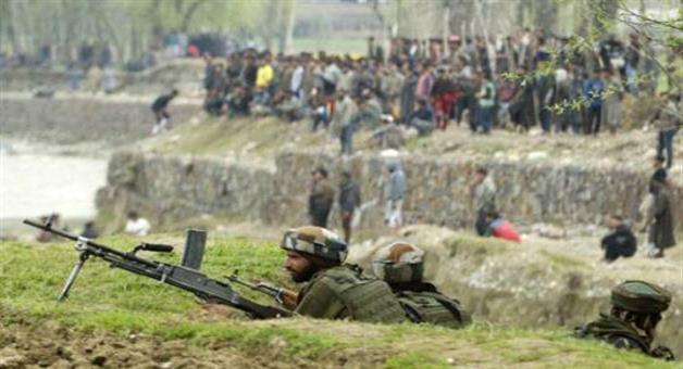 Khabar Odisha:terrorist-and-three-protesters-killed-in-budgam-encounter