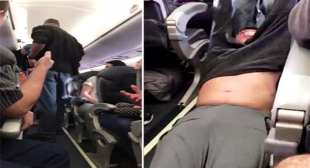 Khabar Odisha:united-airlines-under-fire-after-passenger-dragged-from-plane