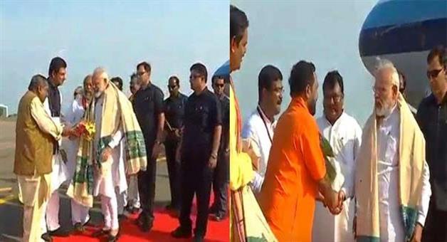 Khabar Odisha:modi-reached