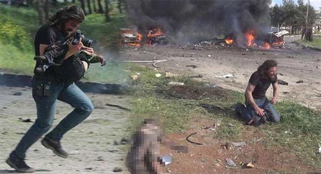Khabar Odisha:Photographer-Abd-Alkader-Habak-was-near-the-place-of-bombing-in-Syria