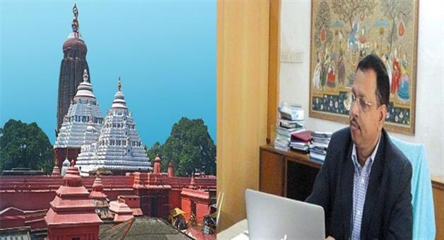 Khabar Odisha:Pradeep-jena-took-charge-of-srimandir-chief-administrative