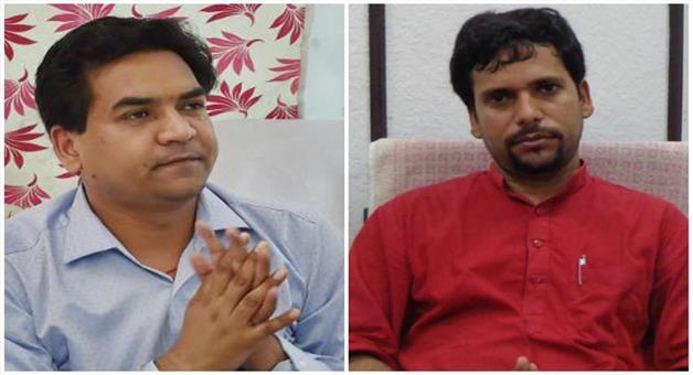Khabar Odisha:Sanjib-Jha-sits-on-Hunger-strike-against-Kapil-mishra