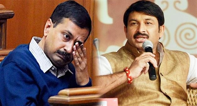 Khabar Odisha:manoj-tiwari-attack-on-delhi-cm-arvind-kejriwal