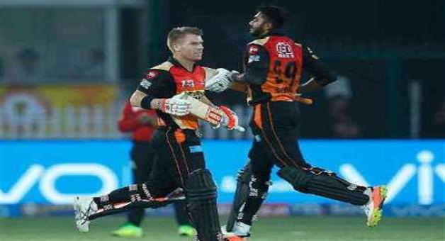 Khabar Odisha:Hydrabad-beat-8-wickets-gujrat-lions-and-enter-to-play-off