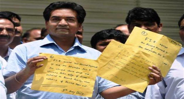 Khabar Odisha:Kapil-mishra-opens-few-chapter-of-kejriwals-illegal-work-done