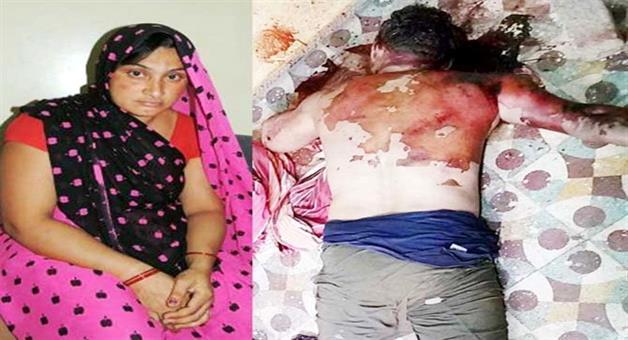 Khabar Odisha:wife-killed-husband-in-khrgoun-indore-mp