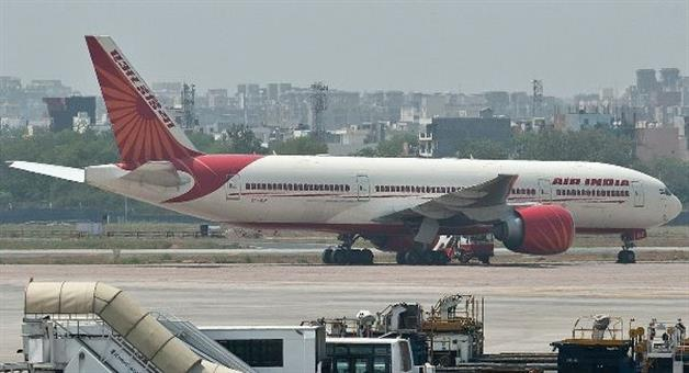 Khabar Odisha:air-India-get-away-from-danger-landed-Emergency--Mumbai-airport