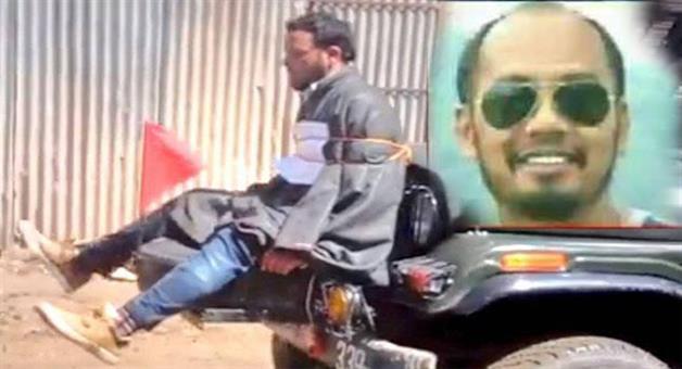 Khabar Odisha:major-nitin-gogoi-who-tied-protester-to-jeep-as-human-shield-in-jk-honoured
