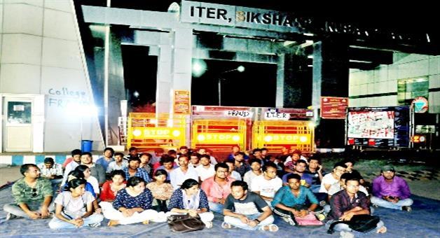 Khabar Odisha:SOA--FAKE-PLACEMENT-ROW