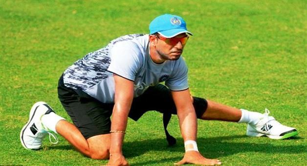 Khabar Odisha:champions-trophy-2017-yuvraj-singh-misses-training-session-due-to-fever