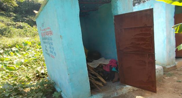 Khabar Odisha:Open-defecation-free-become-a-mockery