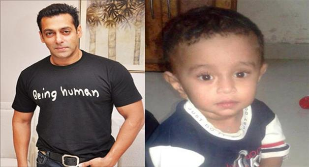 Khabar Odisha:salmans-Being-Human-foundation-Grants-2-lakh-for-the-2-year-old-baby
