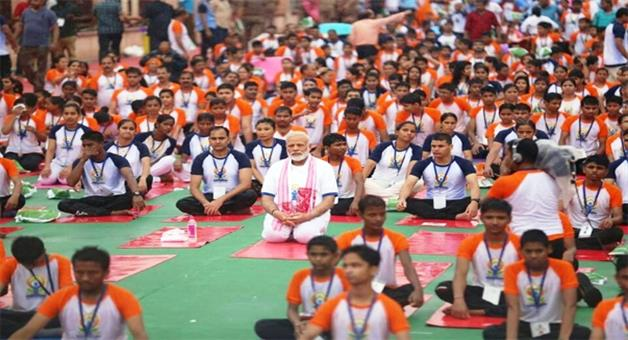 Khabar Odisha:pm-modi-yoga-programme-children-ill