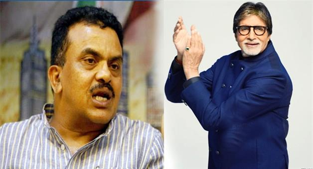 Khabar Odisha:sanjay-nirupam-target-amitabh-bacchan-over-gst-brand-ambassador-issue