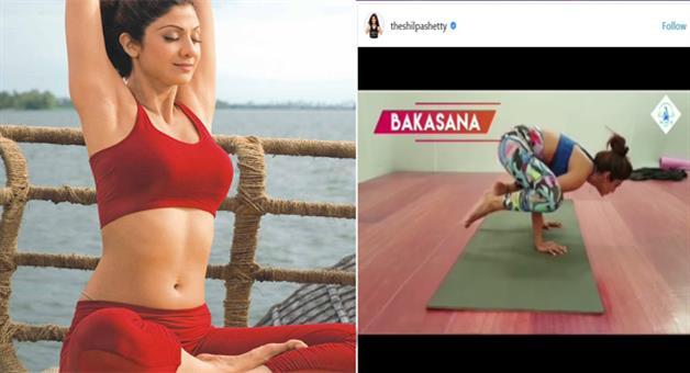 Khabar Odisha:Shilpas-video-went-viral-on-Yoga-Day