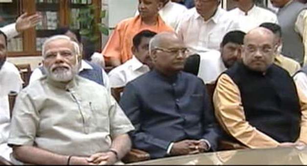 Khabar Odisha:Ranmanath-kobind-files-nomination