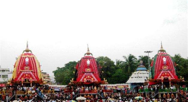 Khabar Odisha:Three-Rathas-in-Gundicha-Mandir