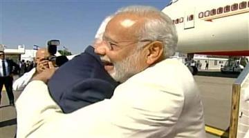 Khabar Odisha:prime-minister-narendra-modi-arrives-israel-live-copy-welcome-benjamin-netanyahu