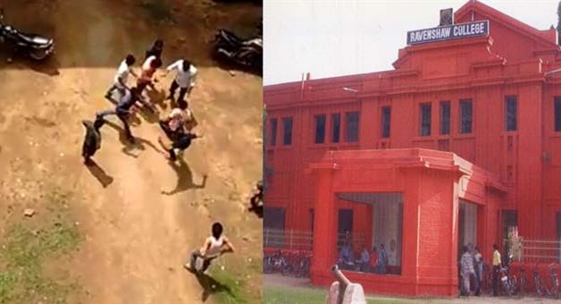 Khabar Odisha:Youth-Tortured-By-Seniors-Of-Ravenshaw-Video-Goes-Viral