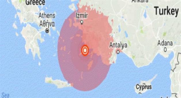 Khabar Odisha:Earthquake-in-Turkey-and-Greece-border