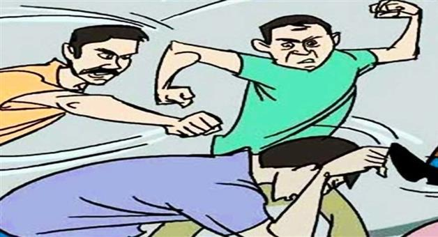 Khabar Odisha:people-attacked-police-in-nayagarh