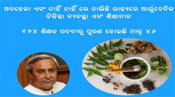 Khabar Odisha:Government-Ayurvedic-Medical-College-neglected-in-Odisha-Ayurved-Treatment