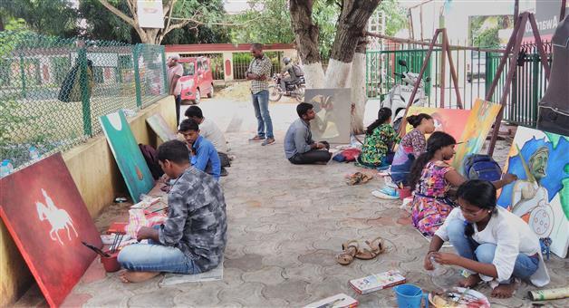 Khabar Odisha:inagurate-3-days-art-comitation-at-jayadev-bhawan