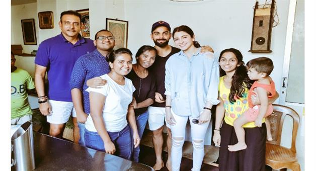 Khabar Odisha:team-india-virat-kohli-anushka-sharma-srilanka