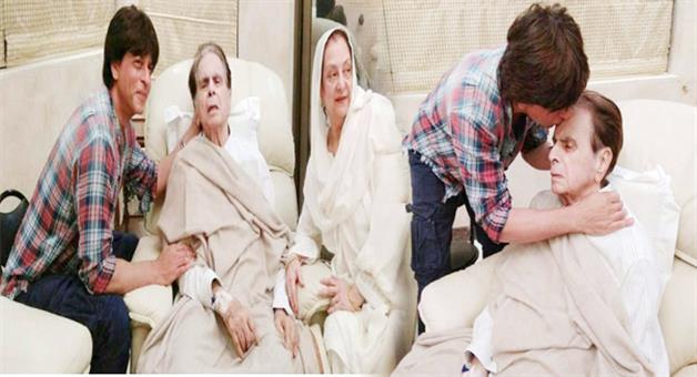 Khabar Odisha:shah-rukh-khan-visit-dilip-kumar
