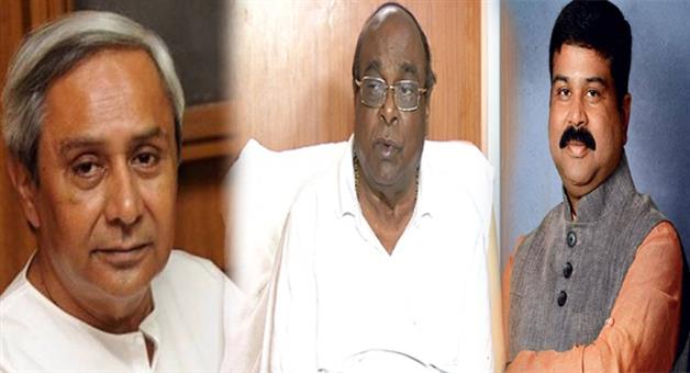Khabar Odisha:Agriculture-minister-Damodar-Rout-disagree-with-CM-and-Dharmendra-meet