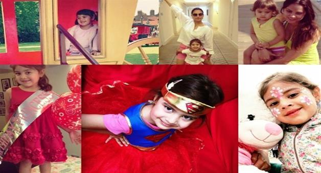 Khabar Odisha:Lara-daughters-cute-look