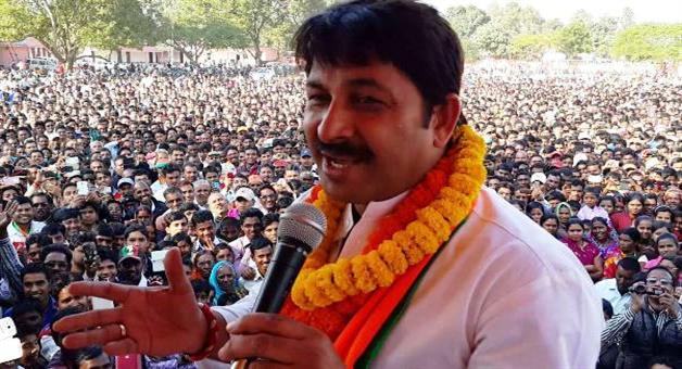 Khabar Odisha:Attack-on-BJP-MP-Manoj-tiwari