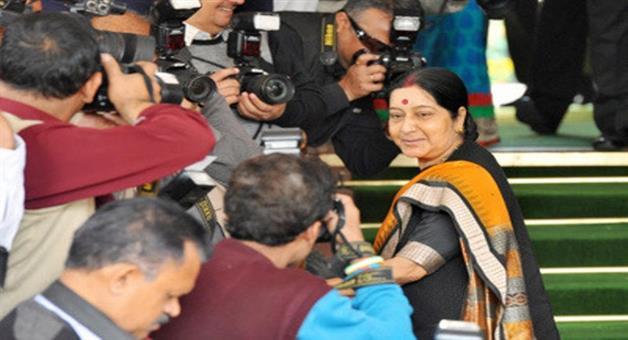Khabar Odisha:Sushma-Swaraj-in-New-York-to-attend-UNGA-meet
