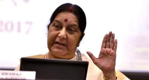 Khabar Odisha:sushma-swaraj-takes-well-aimed-swipe-at-pakistan-on-sidelines-of-un-meet