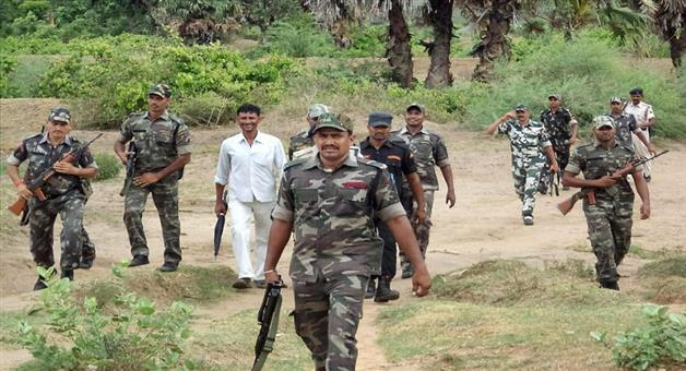 Khabar Odisha:2-naxal-died-by-police-operation