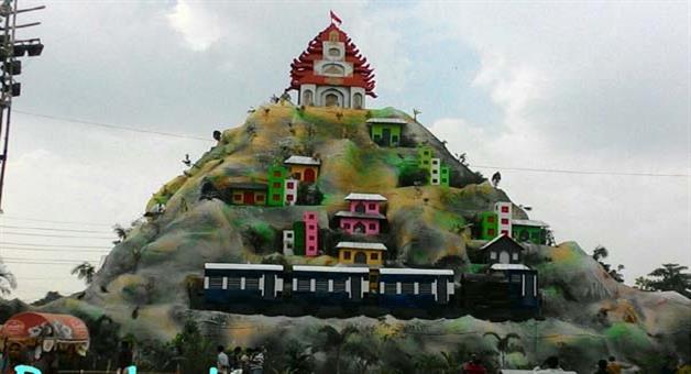 Khabar Odisha:Rasulgarh-Durga-Puja-Pandal