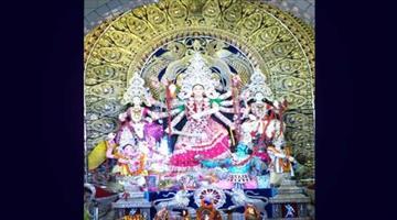 Khabar Odisha:Chandni-Square-Durga