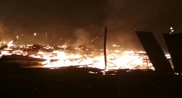 Khabar Odisha:Crackers-market-caught-fire-in-Rourkela-one-dead
