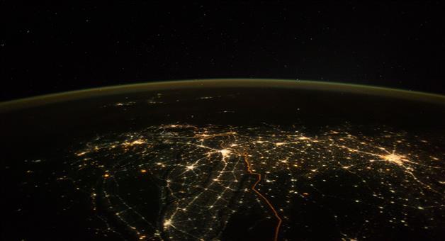 Khabar Odisha:esa-astronaut-shared-indias-diwali-image-from-space