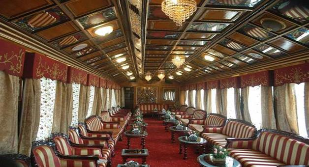 Khabar Odisha:train-palace-on-wheels-inside-photos-which-root-got-changed-due-to-strike-of-chittorgarh
