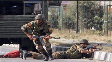 Khabar Odisha:security-forces-gun-down-terrorists-during-encounter-in-bandipora-hajin-in-jammu-and-kashmir
