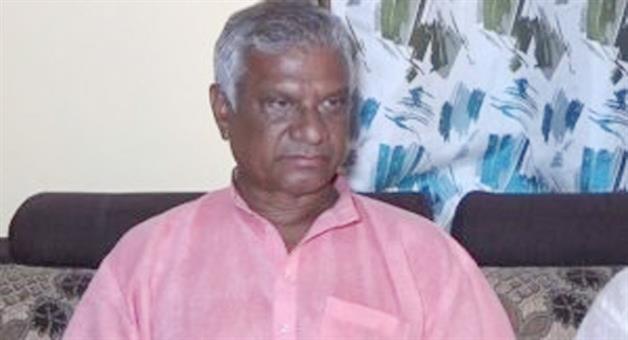 Khabar Odisha:Bargarh-BJP-president-Narayan-Sahu-quits-party