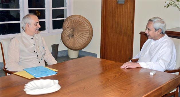 Khabar Odisha:CM-Naveen-Patanaik-meets-Gajapati-Maharaja-Dibya-Singh-Dev