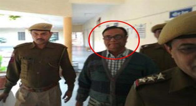Khabar Odisha:IAS-Officer-BB-Mohanty-arrested-by-Rajstan-Police-in-rape-case