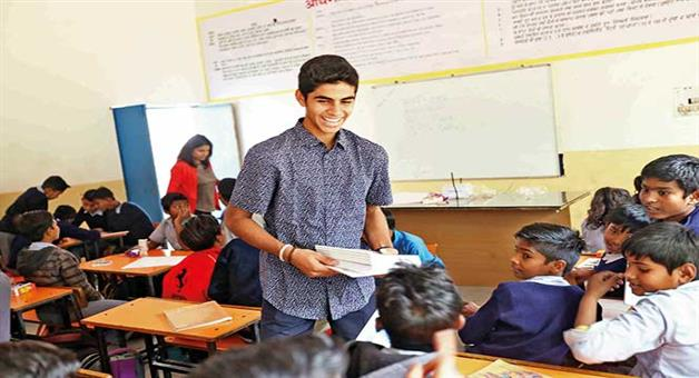 Khabar Odisha:Gurgaon-Class-X-student-adopts-a-government-school