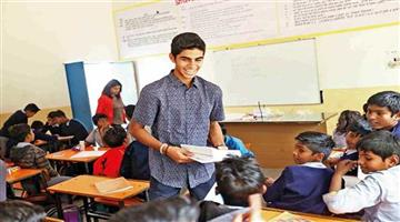 Khabar Odisha:Gurgaon-Class-X-student-adopts-a-government-school