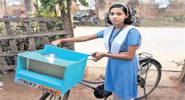 Khabar Odisha:9th-class-student--made-pollution-free-gadget